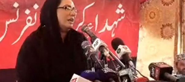 Karbala firdous Ashiq Awan Karbala teaches stand against falsehood Sialkot special assistant stand steadfastly