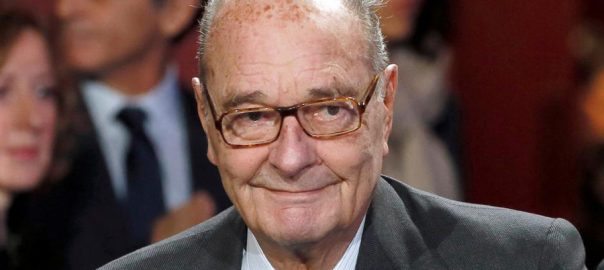 Former French, president, Jacques Chirac, dies, 86