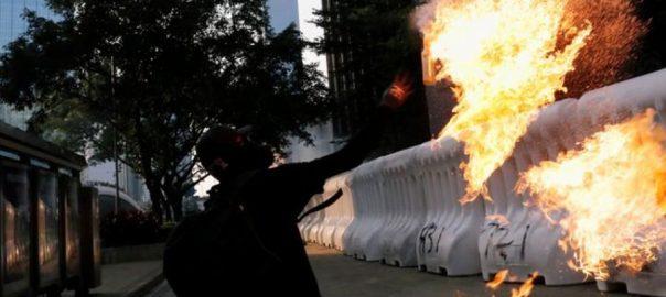Hong Kong Hong Kong reopens violent weekend of protests