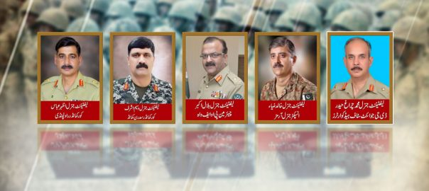 postings appointments ISPR COAS Chief of Army staff Pakistan Army