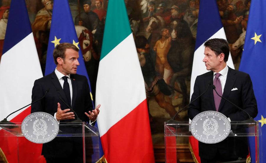 migrants Itly France EU European Union