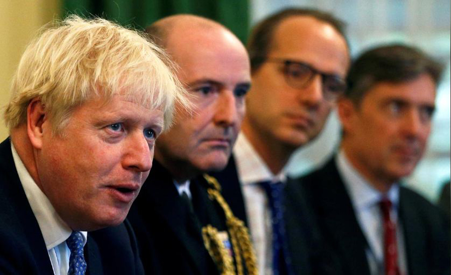 PM Johnson says some progress being made in Brexit talks