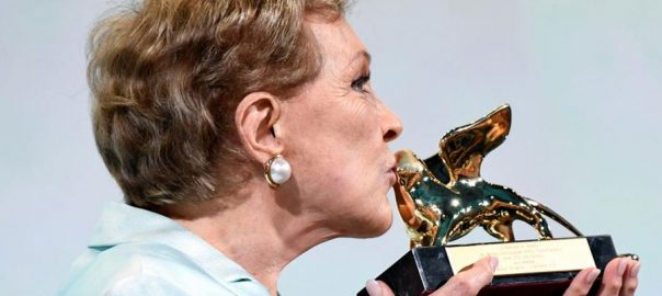 Julie Andrews lifetime achievement award Venice
