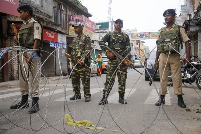Curfew Lockdown Occupied Kashmir indian Occupied Kashmir IoK 47th day balckout