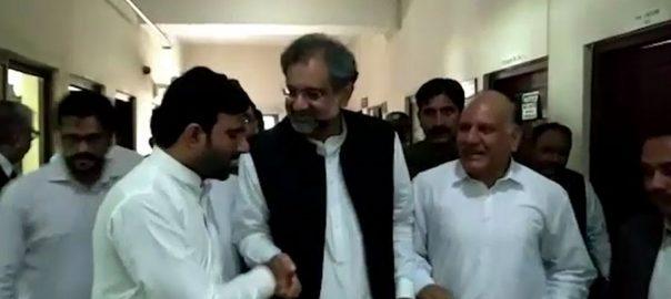 physical remand khaqan abbasi imranul haq miftah ismail accountbaility court judge muhammad bashir LNG case