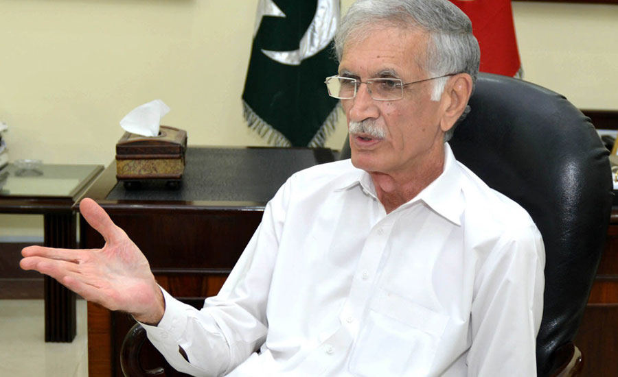 Kashmir, Pervez Khattak, Pakistan, Indian aggression