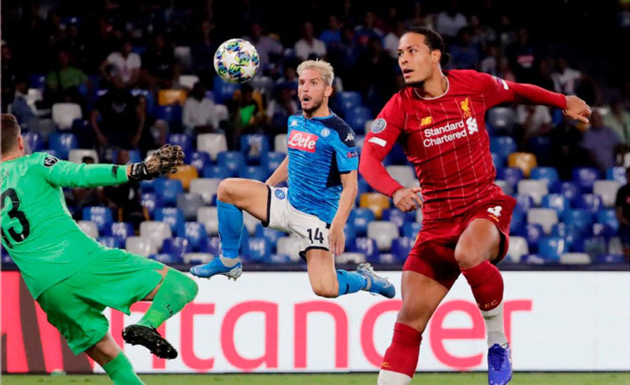 Klopp Napoli defeat Liverpool title defence