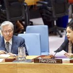 military solution Pakistan Maleeha Lodhi no military solution Maleeha tells in UNSC Afghan conflict UN Military Observer Group early resumption Afghan peace talks Pakistani amabassador