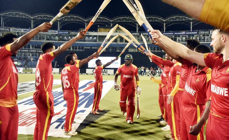 Zimbabwe, Masakadza, signs off, super special, win