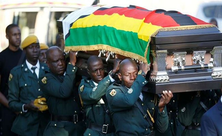 An era ends in Zimbabwe as Great Mugabe buried in home village