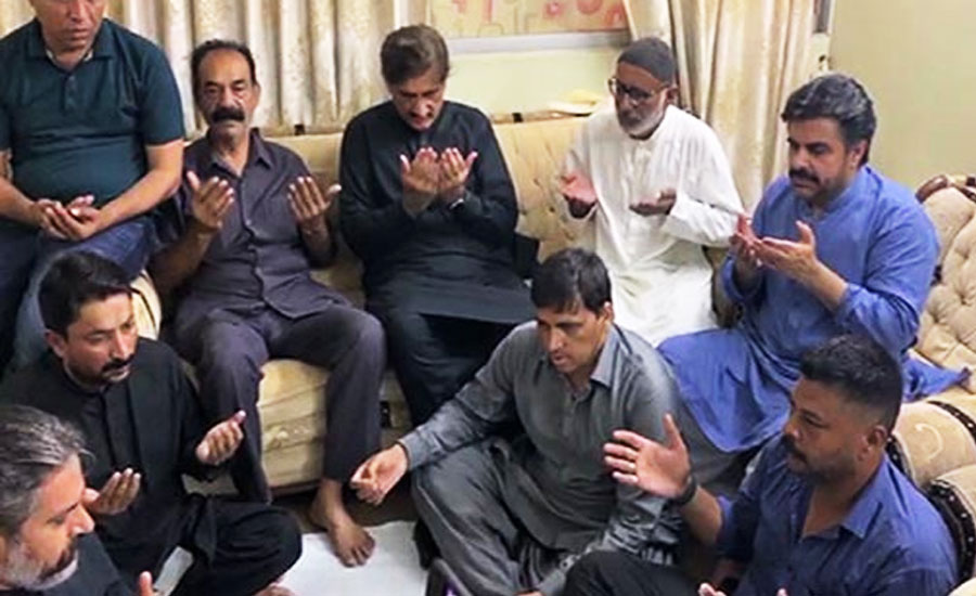 Major Adeel Sindh CM Sindh Chief minister Murad ali shah martyred condolences family