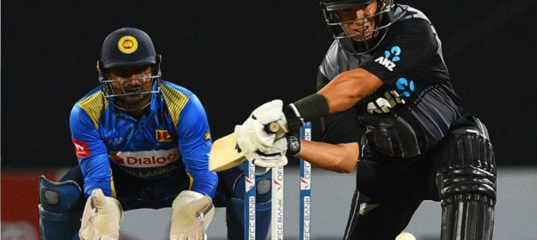 T20I, Taylor New Zealand Sri Lanka ICC T20