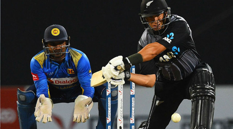Taylor, de Grandhomme steer NZ to victory in opening T20I