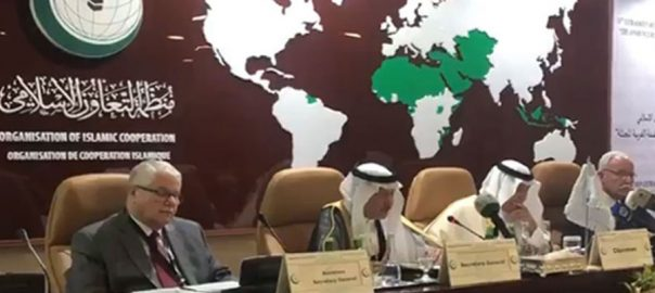OIC israeli PM annexation pledge Benjamin Netanyahu Foreign Ministers