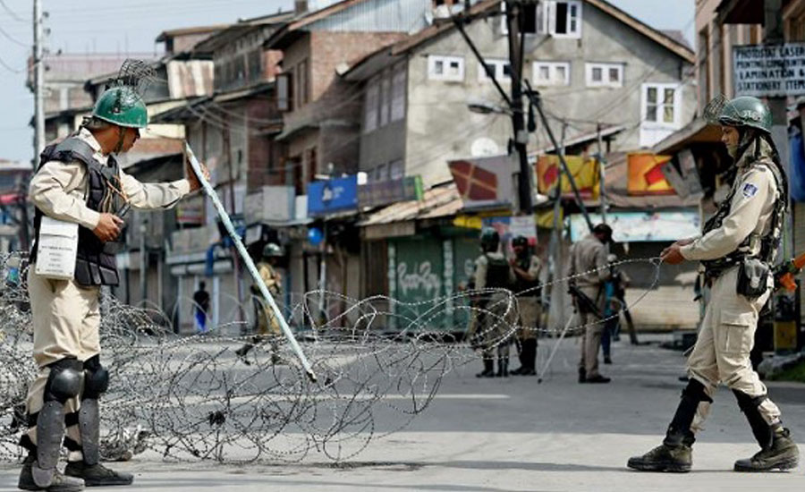Curfew enters 35th day in Occupied Kashmir