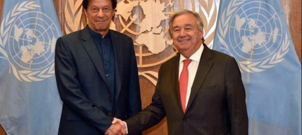 PM Imran Khan, apprises, UN, Secretary General, Antonio Guterres, IOJ&K, situation