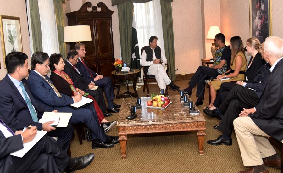 PM Imran appreciates AI's role in highlighting Indian atrocities in IOJ&K