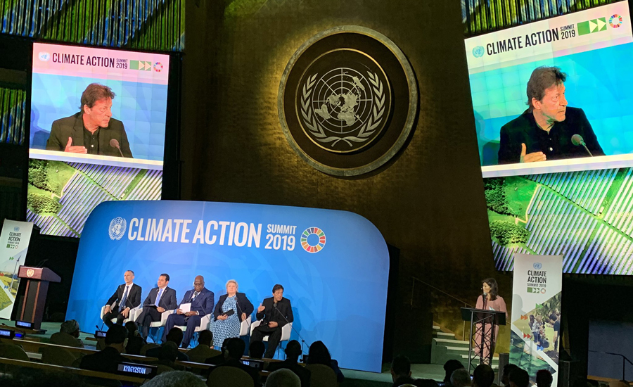 Powerful countries should play role to deal with climate change issues: PM Imran Khan