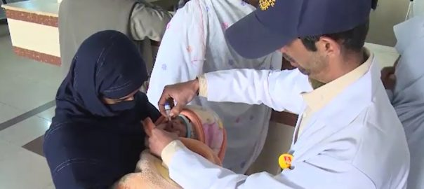 polio cases KP Balochistan surfaced baby girl reported