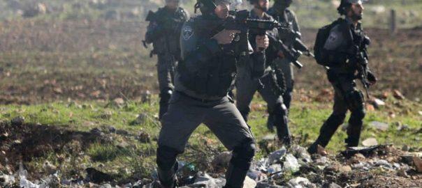 Palestinians-shot-dead