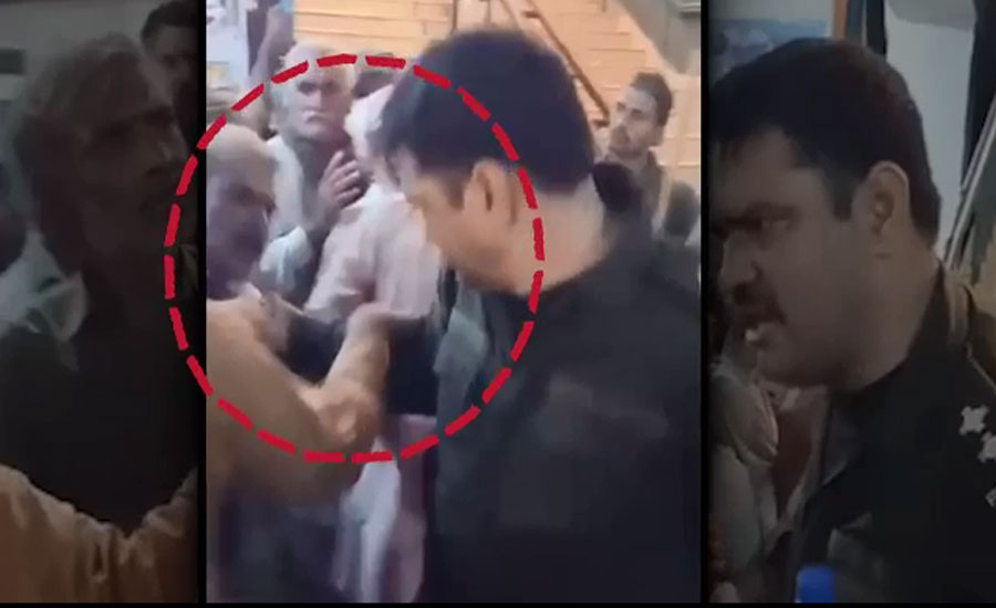 SI who manhandled elderly devotee at Baba Fareed's Urs suspended
