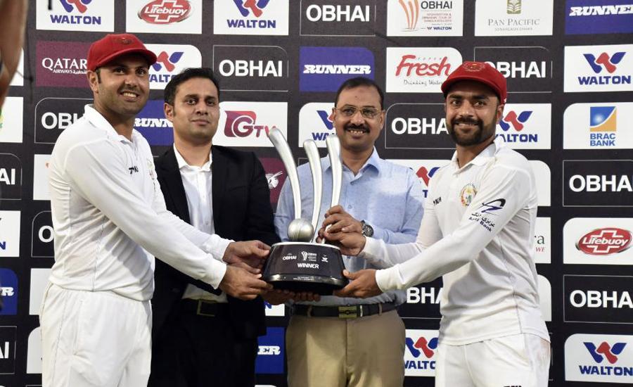 Rashid Khan leads Afghanistan to famous Test win over Bangladesh