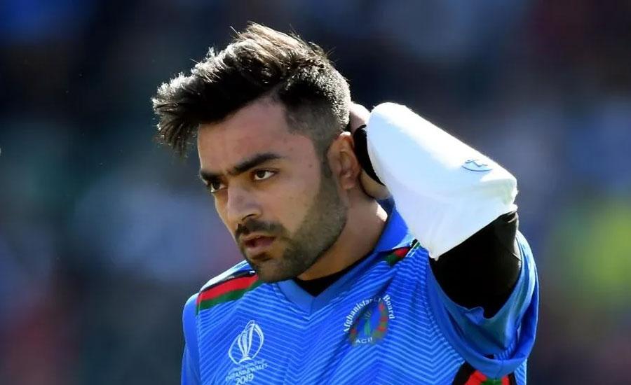 Rashid Khan Afghanistan ICC T20 tri series 2000 T20 final