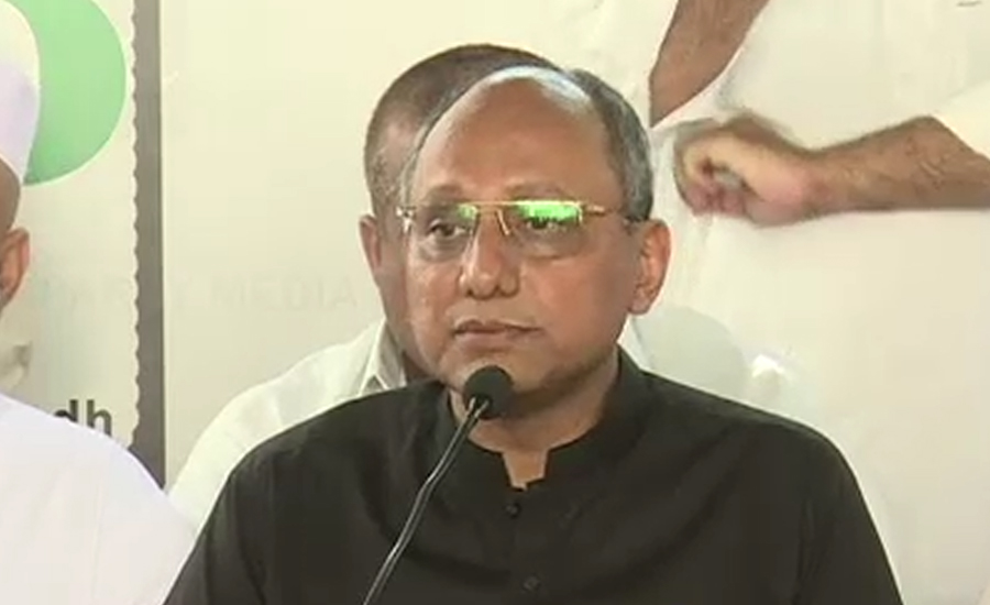 Federal govt cannot take over control of Karachi's affairs: Saeed Ghani