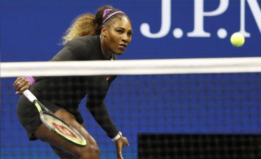 Serena Williams' path to Grand Slam record blocked by teenager