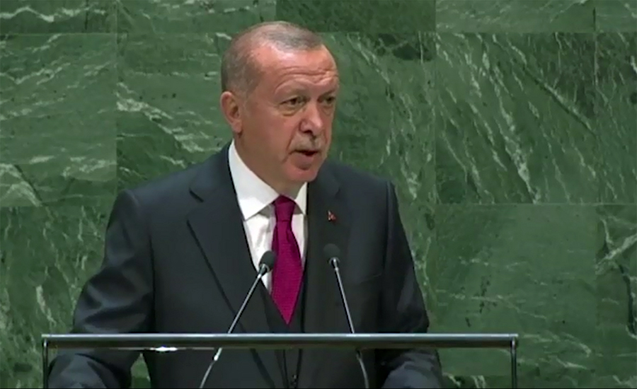 Turkish President Erdogan calls for resolution of Kashmir issue through dialogue