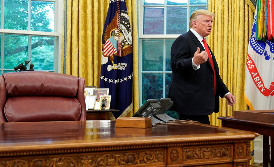 I have cancelled peace talks with Taliban over Kabul attack: Trump