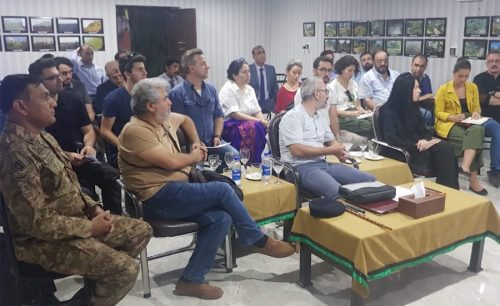 Turkish, journalists, Muzafarabbad, Chakhoti, briefed, Indian CFVs, LoC