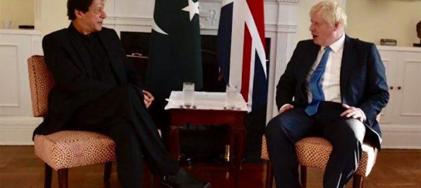 PM, Imran Khan, apprises, UK PM Boris Johnson, rights, violations, IOK