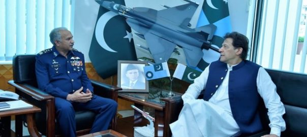 PM, Imran Khan, Air Headquarters, lauds, PAF, role, war against terrorism