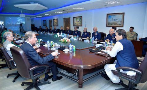 PM, Imran Khan, Air Headquarters, lauds, PAF, role, war against terrorism