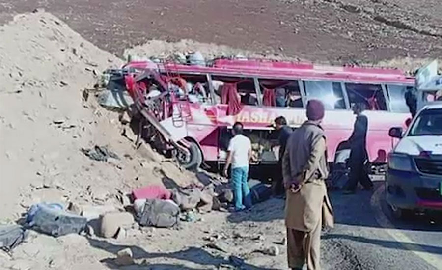 Babusar Top passenger bus speeding bus rammed mountains Babusar Pass