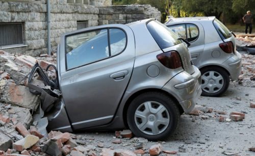 earthquake,building,report,car,damages