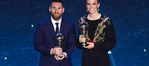 Messi FIFA player Player of the year record sith time Liverpool FIFA Virgil Van Dijik Cristino Ronaldo