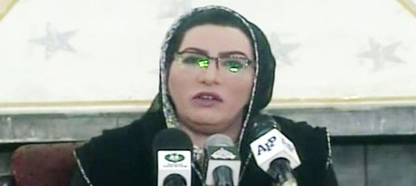 sick industrial sick industrial units PM Prime minister imrna khan Firdous Ashiq Awan special assistant