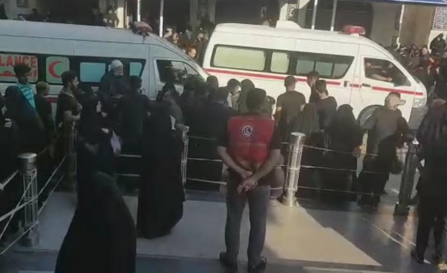 36 devotees martyred, 75 injured in Karbala stampede
