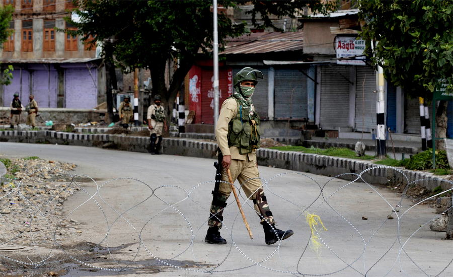 Curfew enters 2nd month in Occupied Kashmir