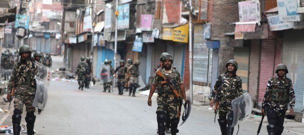 Curfew lockdown communication block Indian occupied Kashmir IoK UNGA