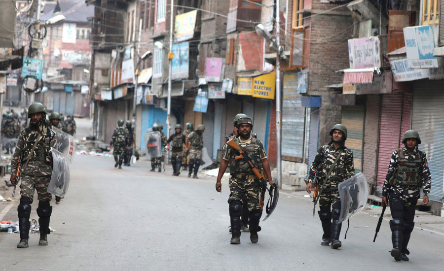 Curfew enters 56th day in Occupied Kashmir