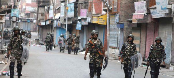 curfew Lockdown Kashmir Indian occupied kashmir 51st consecutive day Occupied Kahsmir