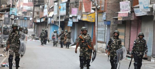curfew Indian occupied kASHMIR LOCKDOWN communication lockdown nARENDRA mODI special status