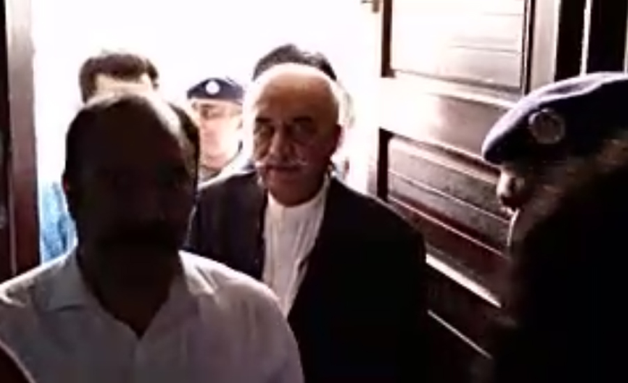 Court approves two-day transit remand of Khursheed Shah