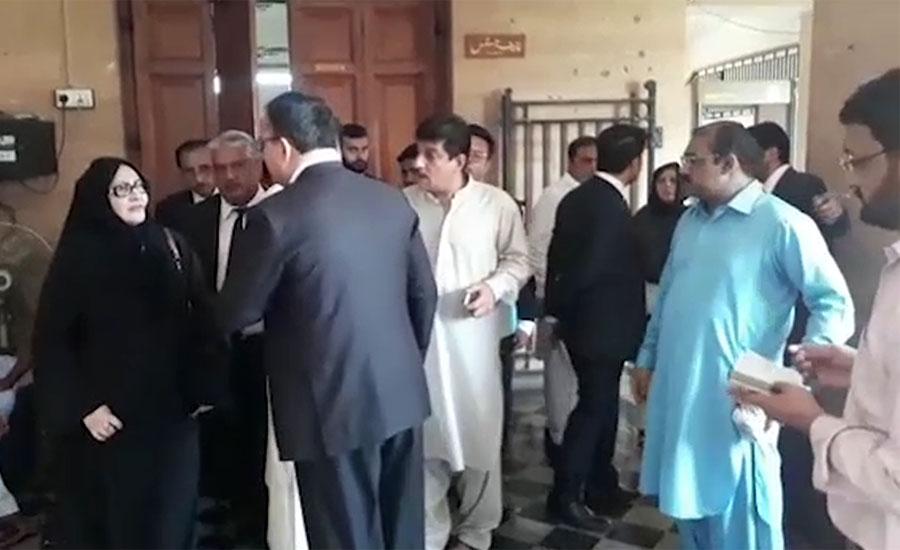 NAB raids house of PPP leader Khursheed Shah in Sukkur