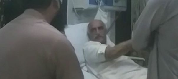 Khursheed Shah, undergoes, medical, check-up, admitted, Poly Clinic