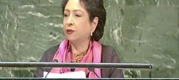 UNSC Pakistan security council maleeha Lodhi pakistani amabassador
