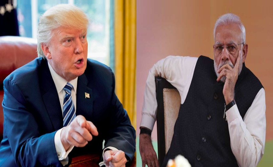 Trump encourages Pakistan, India to work out their differences